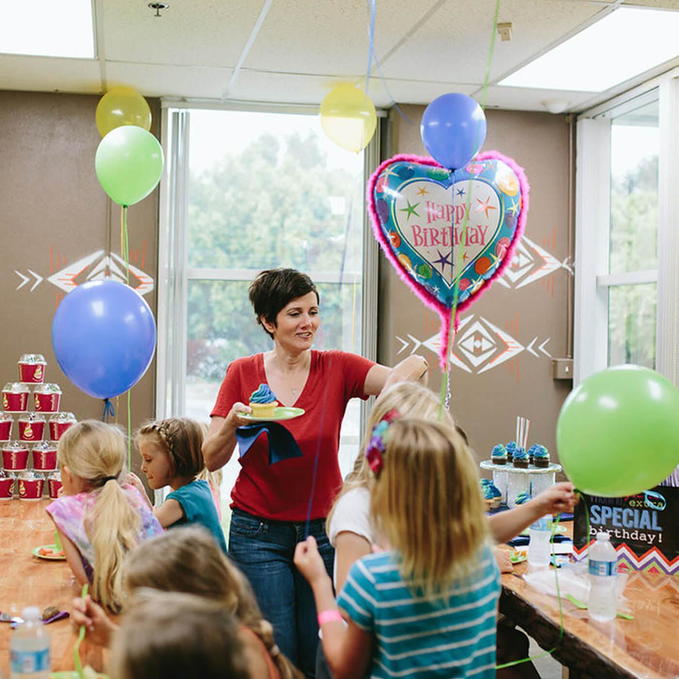 birthday party facilities